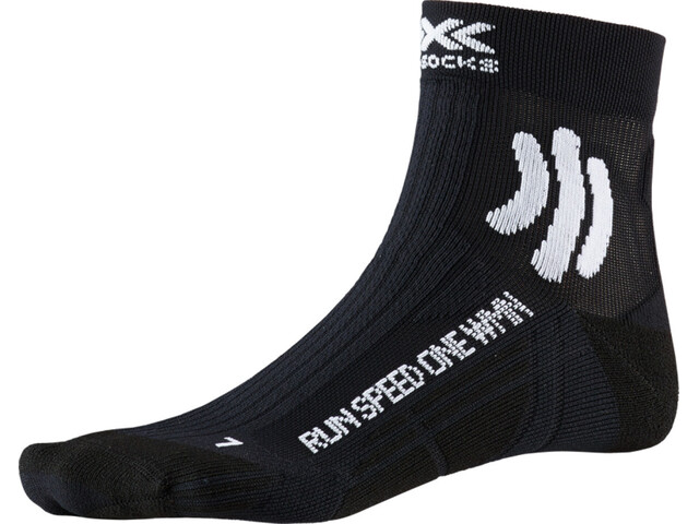 X-Socks Run Speed One Chaussettes Femme, opal black